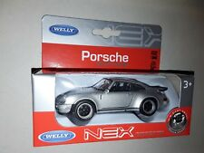 WELLY  Porshe 911 Turbo Series neuf models  Die Cast Metal 1/43