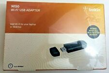 Genuine Belkin N150 Wi-Fi USB Adapter BRAND NEW - SEALED
