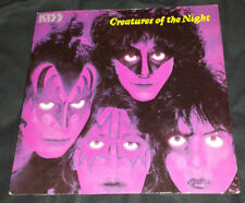 Kiss: 7'' U.K. Import picture sleeve (Creatures of the Night) 1982