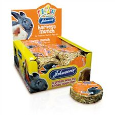 Harvest Munch For Rabbits And Guinea Pigs - Johnsons 70g Treat Vet Etc