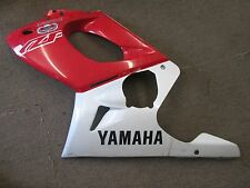 1997 Yamaha YZF600 left mid cowl/fairing (red/white) 4TV