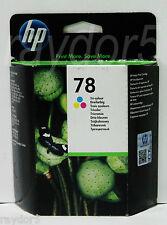 HP 78 Large Original Deskjet Officejet Clr Ink Cartridge C6578A Mar 18 -VAT INCL