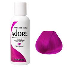 ADORE SEMI PERMANENT HAIR COLOR Pink Rose - 82 118mL