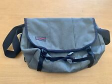 "Timbuk2 Medium Classic Messenger Bag Carbon Full Cycle Twill NWOT 15"" Laptop"