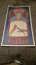 Original Vtg Poster Jesus Christ Superstar Musical Near Mint 1971