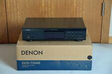 Denon DCD-720AE CD-Player schwarz
