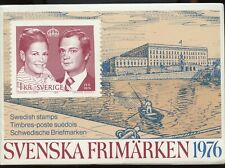 No: 72451 - SWEDEN (1976) - A COMPLETE YEAR SET - MNH!!