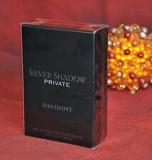 Davidoff SILVER SHADOW PRIVATE EDT 100ml, Very Rare, New in Box, Sealed