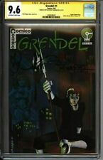 * GRENDEL #1 (1983) CGC 9.6 Signed & Sketch Matt Wagner!  (1609328020) *