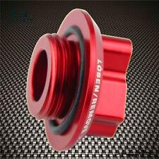 Red Fuel Filler Tank Engine Oil Cap JDM Shocker Emblem For Lexus/Toyota/Scion
