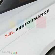 3.2L PERFORMANCE Decal sticker kit for  Porsche 911 Speedster boxster cayenne