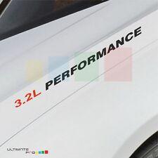 3.2L PERFORMANCE Decal sticker kit for  Porsche 911 Speedster boxster cayenne