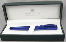 Monteverde Impressa Blue w/ Blue Trim Fountain Pen - Fine Nib - New
