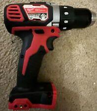 "New Milwaukee M18 2606-20 Cordless Compact Drill 1/2"" Driver Metal Gear 18 Volt"