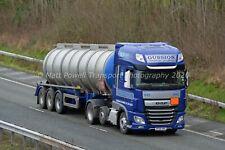 Truck Photo 12x8 - DAF XF - Gussion Transport - DF68 HRE