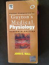 Pocket Companion to Guyton Medical Physiology - Eleventh Edition John Hall