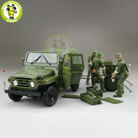 1/18 BJC JEEP 212 with Cannon Army Military Diecast Car Suv Model toy Boy Gift