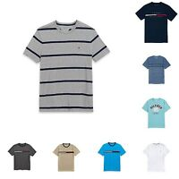 TOMMY HILFIGER MENS CLASSIC TEE SHIRT ALL sizes NWT 100% cotton blue white gray