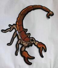 Aufnäher Skorpion Patch Scorpion Rückenaufnäher Backpatch XXL