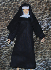 """Nun Outfit for 1/6 scale 12"""" Female action figure.Hot Toys CY CG Girl Dragon BBI"""