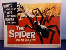"Edward Kemmer Signed Photo From ""The Spider"" with COA"