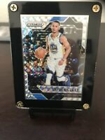 Panini Prizm Mosiac Stephen Curry Base Silver Warriors 16-17 MVP