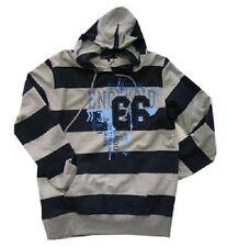 Mens Big Size Vintage Look England 66 Hoody Hooded Sweatshirt - 2XL 3XL 4XL 5XL