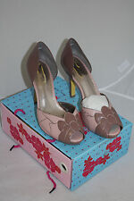 FEEL THE RHYTHM POETIC LICENCE PEEP TOE SHOES PUMP PINK SIZE 8.5 OR 9.5 NIB