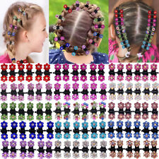 90pcs Baby Girls Hair Claw Clips Rhinestone Mini Hair Clip Mix Flower Hair Bangs