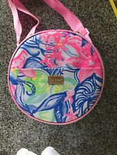New Lilly Pulitzer Havana Cocktail Picnic Bag Lunch Glasses Utensils Silverware