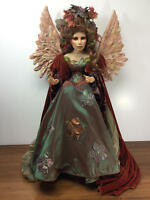 "34"" (incl wings) PAT THOMPSON/VLASTA STUDIO OOAK ARTIST PROOF DOLL ""ANGEL"""