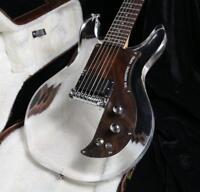 22Custom Shop 6 Strings Dan Electric Guitar Crystal Guitar Acrylic Body Rosewood