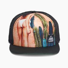 REEF Men s GIRL Hat Orange Snapback Mesh One Size---NEW 164b51da23dd