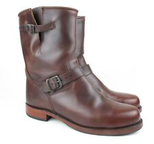 Frye 221066 Brown Chromexcel Motorcycle Boots 11.5 M  USA