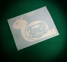 Supercharged snail decal vinyl sticker jdm stance car window blower boost