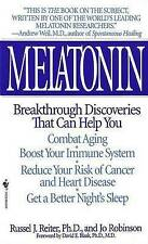 Melatonin; Breakthrough Discoveries That Can Help You (Paperback, 1996)