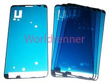 5x Chasis Adhesivo Funda Vidrio Carcasa Adhesive LCD Frame Samsung Galaxy Note 3