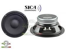 SICA COPPIA Mid Woofer 20 cm 4Ω Medio bassi per fronte da urlo spl auto audio
