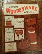 RARE American Woodenware 1974 PB early 1900s vintage dishes antiques Americana