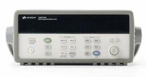 Agilent KEYSIGHT 34970A Data Acquisition/Data Logger Switch Unit