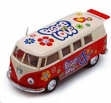 1962 Volkswagen Classical Bus - Kinsmart 5377DF - 1/32 scale Diecast Model Toy C