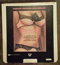 "CED VIDEODISCS ""Scandalous""  RCA Selectavision Robert Hays Pamela Stephenson"