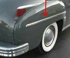 NOS 1949 Plymouth Rear Fender Moulding Convertible Suburban 49 Coupe Trim MoPar