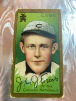 1911 Sweet Caporal Cigarettes Baseball Card John Evers