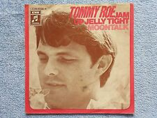 """Vinyl-7""""-Cover # only Cover # Tommy Roe # Jam Up Jelly Tight - Moontalk # vg"""
