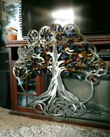 Metal wall art Tree of Life Wall Art Hanging Sculpture outdoor wall decor art