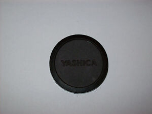 YASHICA 48MM PUSH ON LENS CAP FOR 46MM FILTER LENS THREAD MADE IN BRASIL