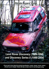 LAND ROVER DISCOVERY ULTIMATE BUYERS GUIDE BOOK JAMES TAYLOR 1989-2004 LANDROVER