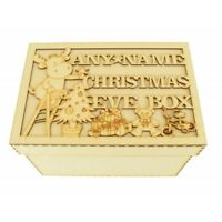 Personalised Wooden MDF Christmas Eve Box, Night Before Christmas Gift - CP38