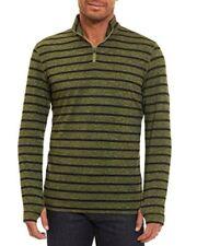 NEW Robert Graham 1/4 Zip Sweater XXL Mens Callum Tailor Striped Pullover Sz 2XL